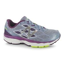 New Balance M880v5 B Running Shoes Womens Purp/Gry Trainers Sneakers Sports Shoe