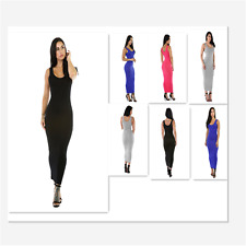 Sexy New Women Stretchy Fit Long Sundress Party Gown Cocktail Evening Club Dress