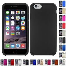 For Apple iPhone 7/6S/6 Plus Slim-Grip Shockproof 2-Piece Hard Case Cover