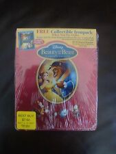 Beauty and the Beast Ironpack/Steelbook Best Buy (Empty Case -- NO Discs), New