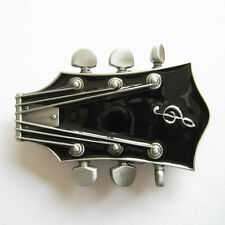 Men Buckle Original Guitar Music Belt Buckle Gurtelschnalle Boucle de ceinture