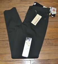 "Rewind Juniors Techno Tuck Pants Skinny ""Jeans"" Olive Green Size 11 30W"