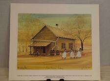 """""""North Mountain Academy"""" P. Buckley Moss Limited Edition Lithograph 34/351"""