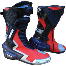 New GP3 Hi Tech Motorcycle Sports Touring Track Boot Geniune Leather All sizes