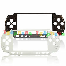 Outer Lens + Front Faceplate Frame Shell Case Housing For Sony PSP 3000