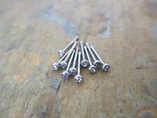 -Lot of 10- Clear CZ Nose Ring Flat Top 18g or 20g or 22g Stud Bone Body Jewelry