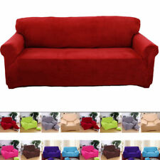 Universal 1 2 3 Seater Easy Fit Stretch Elastic Slip Cover Sofa Armchair Couch