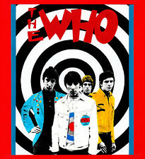 WHO T-SHIRT. Mod, scooter, Psychedelia, 60's pop.