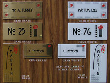 charles rennie macintosh House Flat Door Name Plates Engraved Signs/Plaques