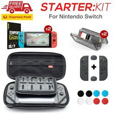 Nintendo Switch Starter Kit -Screen Protector, Carry Case, Free Express