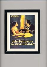 Jekyll and Hyde  , horror , vintage movie posters and framed prints