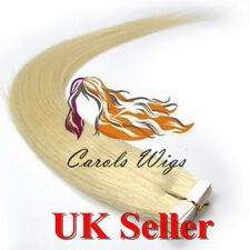 Best Quality 5A 16'' German Tape-In 100% Premier Remy Human Hair Extensions UK