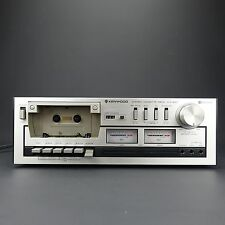 Kenwood Stereo Cassette Tape Deck Player / Recorder KX-400 * Sold As is*