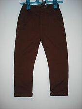 BNWOT Next Boys Chinos 'Rusty Brown' Colour Age 11 Years