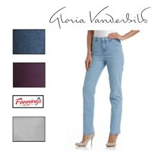 NEW GLORIA Vanderbilt Ladies Amanda Stretch Denim Jeans VARIETY SIZE and COLORS
