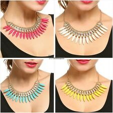 New Fashion Women Golden Alloy with Rhinestone Beads Chocker Necklace WT8801