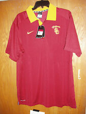 Brand New Authentic USC Polo Golf Shirt Size Men's Large Nike FREE SHIPPING!!!
