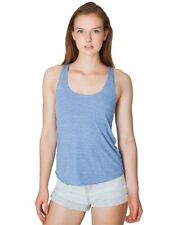 American Apparel women's tri-blend racerback tank (X-Small - Large)(7 Colours)