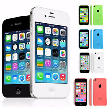 Unlocked Apple iPhone 5C-4S-8/16/32GB Mobile Phone Smartphone All Colors BFF99