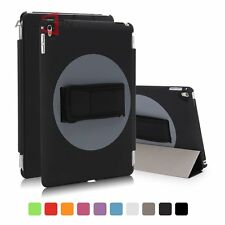 """360 Rotating Swivel Hand Strap Stand Holder Cover Case for iPad Pro 9.7"""" 12.9"""