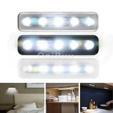 Cordless Closet Cabinet Push/Tap/Touch Lamp Stick On Night Light Lamps Battery