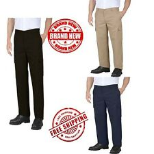 Genuine Dickies Big Mens Relaxed Fit Flat Front Cargo Pants Outdoor Jeans New