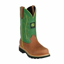 Brand New John Deere JD3286 Women's Green Pull-On Wellington Boots