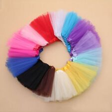 Multicolor Tulle Tutu Skirt Princess Dressup Kid Girls Dancewear