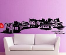 Wall Decal Skyline Eschweiler XXL Sticker Aachen City Germany City 1M164