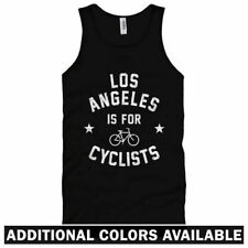Los Angeles is for Cyclists Unisex Tank Top - Men Women XS-2X - Bicycle Cycling