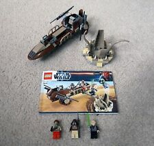 LEGO Star Wars: 9496 Desert Skiff (99% complete, missing only one figure)