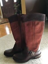 Timberland Earthkeeper Bethel Tall Riding Boot - Rust/Brown New, Size 7