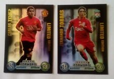 MATCH ATTAX 07/08 TORRES/TEVEZ LIMITED EDITION CARDS