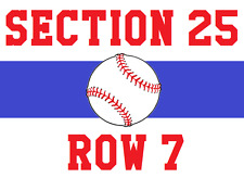 Texas Rangers vs. Los Angeles Angels 04/30/17 Pack of 4 Tickets w/ Parking