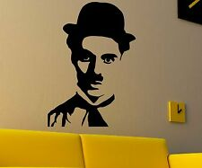 Wandtatoo Charlie Chaplin, Comedian Sticker, Face Actor Sticker 1T040_1