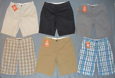 NWT Mens Dockers Flat Front Shorts - U Pick Size + Color - MSRP $48
