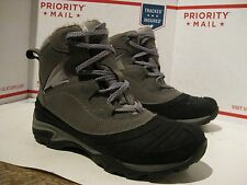 Nice Merrell Charcoal Fur top Hiking Trail Waterproof Boots Womens 9.5 Fast Ship