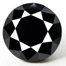 0.75 Cts. CERTIFIED Round Black AAA Quality Loose Natural Diamond Wholesale Lot