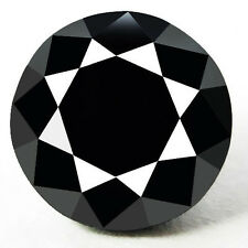 0.05 Cts. CERTIFIED Round Black AAA Quality Loose Natural Diamond Wholesale Lot