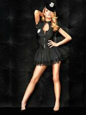 Ann Summers Sgt Frisky Sexy Police Fancy Dress Outfit. Dress with Badge & Hat