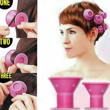 10/12 Pcs Soft Fashion Hair Roller Curler Home Use DIY Styling Beauty Tool ER