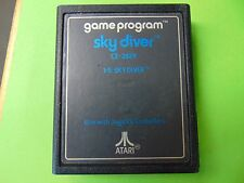 Atari Game Program SKY DIVER Blue Text Game Cartridge Only - WE COMBINE SHIPPING