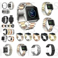 Luxury Replacement Watch Band Stainless Steel Metal Wristband For Fitbit Blaze