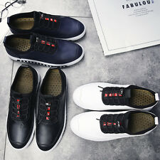 Men's Casual Fashion Sneakers Lace Up Flats Shoes Athletic Sports Shoes New