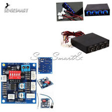 "12V 3.5"" PC PWM PC 4 Channel CPU Fan Temperature Control Speed Controller Module"