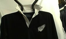 NEW ZEALAND RETRO CLASSIC COMBED COTTON  KIWI RUGBY SHIRT