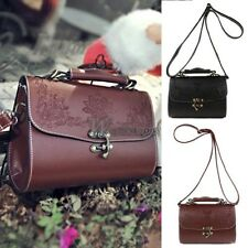 New Fashion Women Synthetic Leather Vintage Style Shoulder Bag Casual WT8802