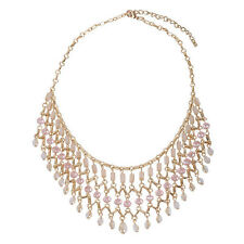 Beautiful Crystal Wedding Chains Necklaces For Women ES0592