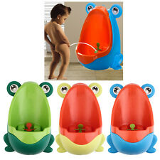 Frog Potty Toilet Children Training Kids Urinal for Boys Pee Trainer Bathroom NT