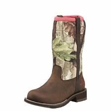 Ariat Western Womens Boots Fatbaby All Weather Waterproof Camo 10016244